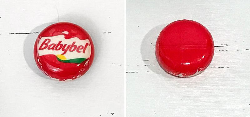 5 Surprise Mini Brands: Babybel Original Cheese.