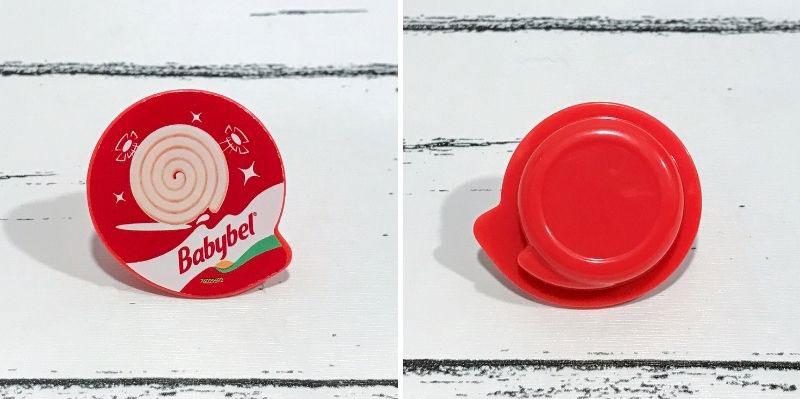 5 Surprise Mini Brands Season 2: Babybel Mini Roll.