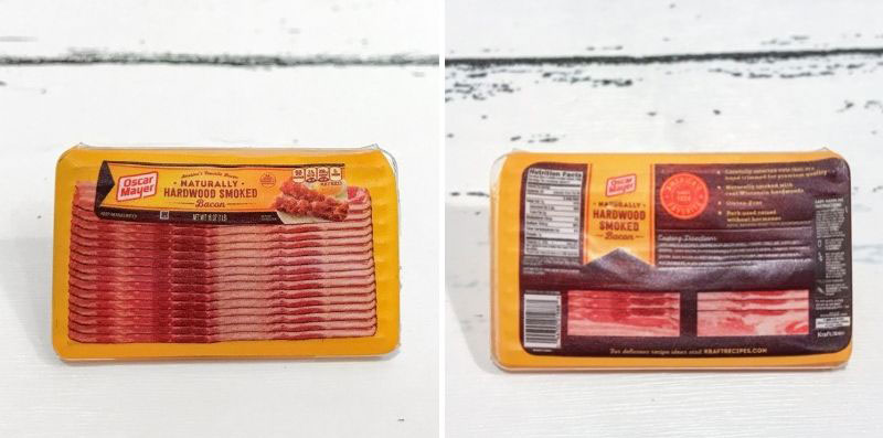 Mini Brands Oscar Mayer Bacon.