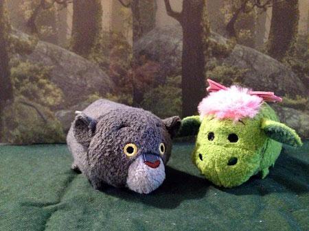 Mini Bagheerah and Elliot Tsum Tsums.