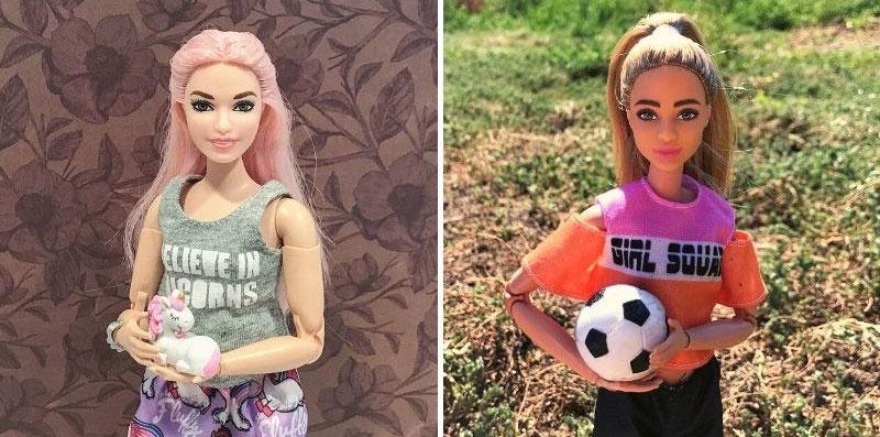 Reviewing Barbie Fashionista 109 and 159. www.pixiedustdolls.com.