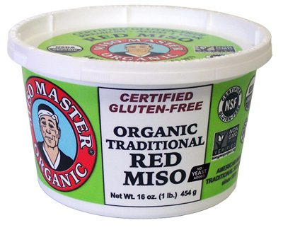 organic traditional red miso from miso master miso - as seen on pixiespocket.com!