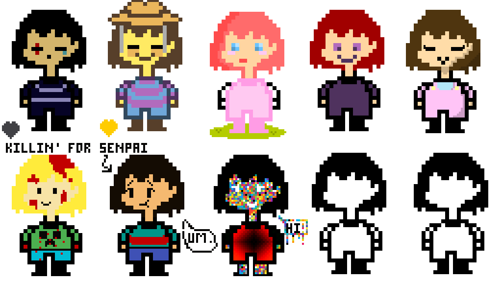 Character Create Your Undertale Own
