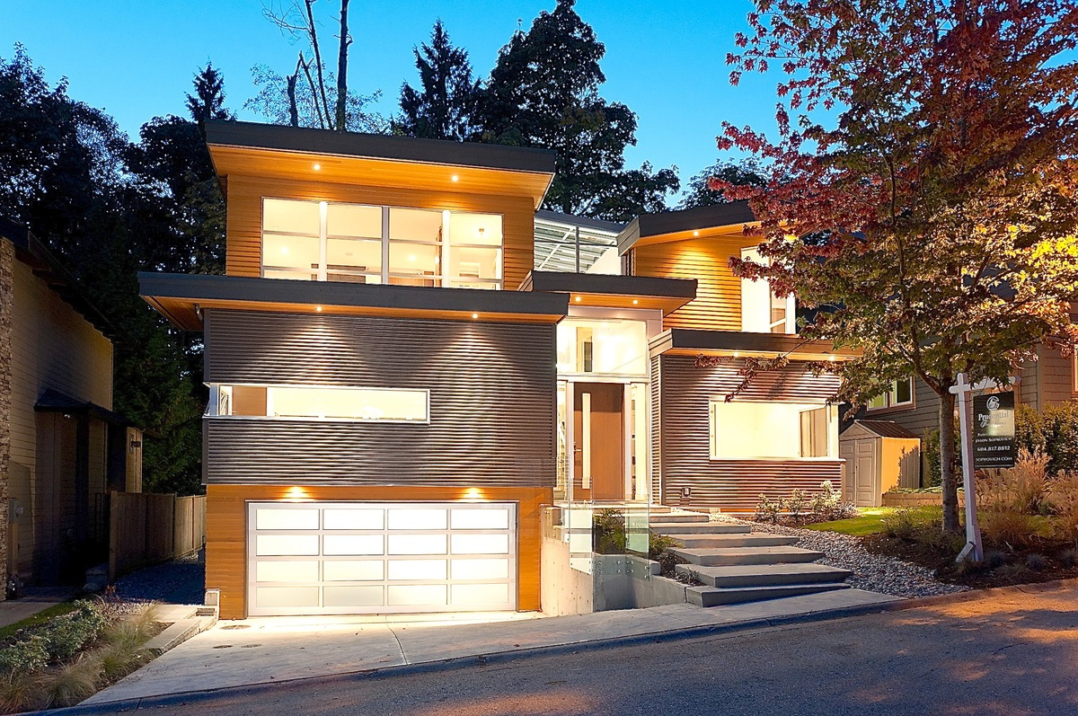 Modern Contemporary Home  West Vancouver 1261 Sinclair Court Albrighton Real Estate Vancouver