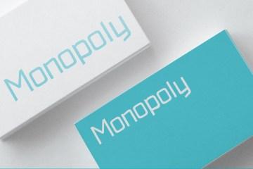 Monopoly - Free Font