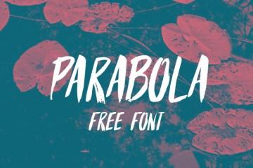 PARABOLA FREE FONT-download