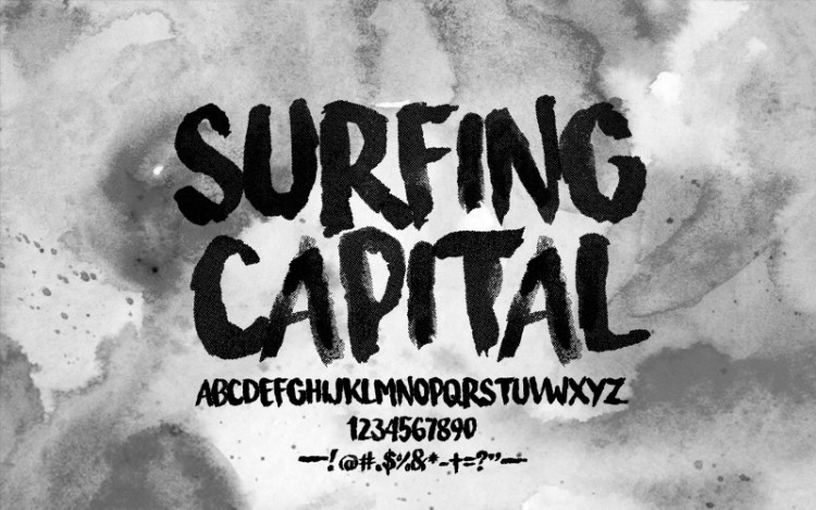 surfing-capital-free-font