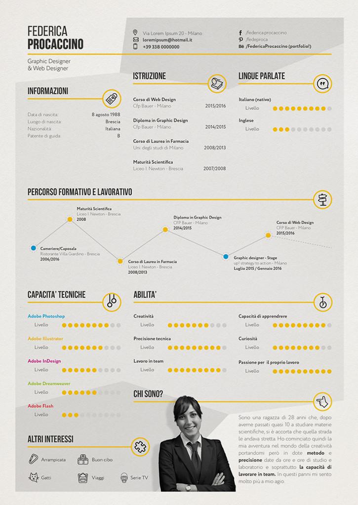 Creative resume / CV free download