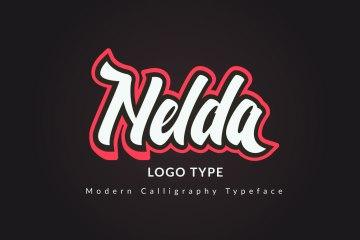 nelda-free-font-download