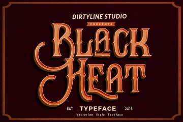 Black Heat Free Typeface