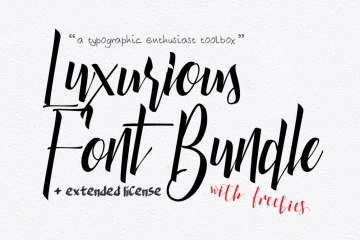 Luxurious-Font-Bundle