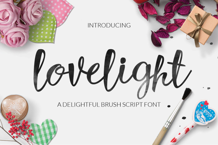 lovelight free font