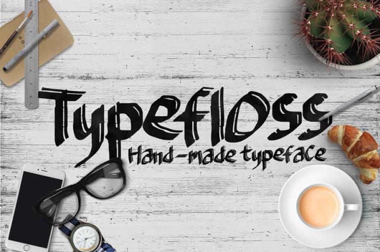 typefloss free font