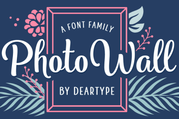 Photowall Font Family Free Demo