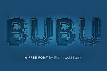 BUBU Free Font