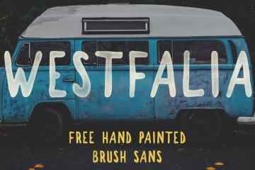 Westfalia-Free-Brush-Font