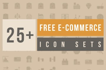 25+ Free E-Commerce Icon Sets to Download