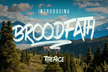 Broodfath-Free-Typeface