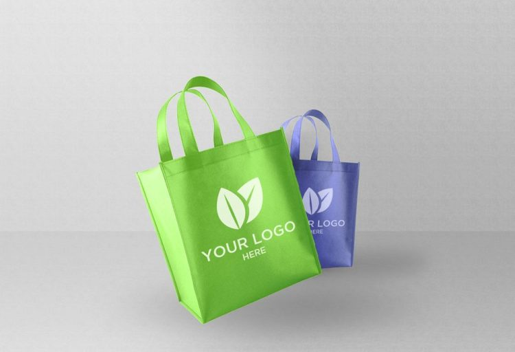 Eco Shopping Bag Free Psd Mockup