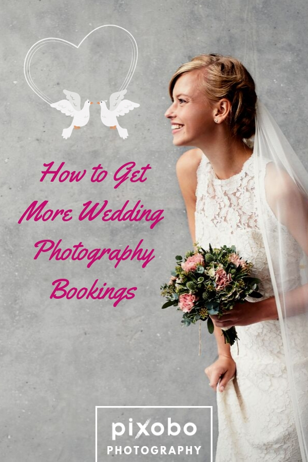 Trying to book wedding photography clients can be hard. It's one of the most stressful and difficult parts about running a photography business. When you take photos at the wedding, you always try to make everything look perfect so that you don't spoil someone\'s \