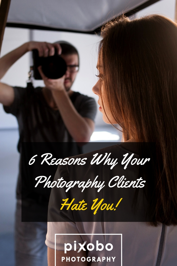 In the photography business, we can often encounter difficult photography clients who will make our business more challenging. But there are also chances that a photographer can be guilty of why his clients and models hate him. In this article, we\'re going to go over some of the reasons why your photography clients hate you and what you can do about it. We will help you to work on yourself and your photography business in order to have a better relationship with your clients. #photographyclients