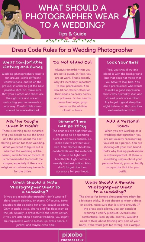 What Should a Photographer Wear to a Wedding_1