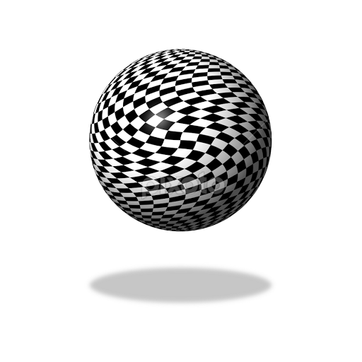 Image result for black and white checkered globe