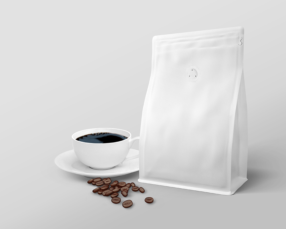 Download Free Coffee Bag Packaging Mockup | Free Mockups | PIXPINE