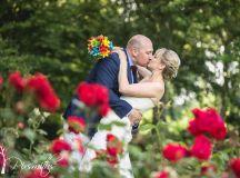 Colurfun fun filled summer fete West Kirby wedding