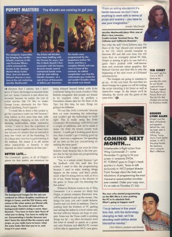 Wing Commander 3 Preview Page 3 - PC Format