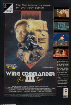 Wing Commander 3 - 3DO Advert (From dodgy seps)