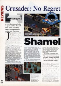 PC Gamer Crusader No Regret Review - Page 1