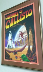 Caverns Of Callisto - Origin Artwork