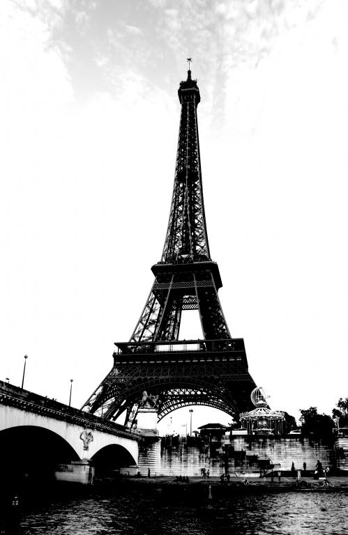 Stampe artistiche quadri e poster con bianco citt edifici nero torre eiffel viaggi  tour