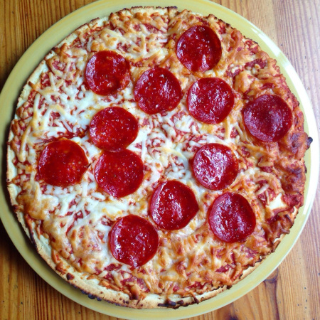 Tony's Pizzeria Style Pepperoni Pizza