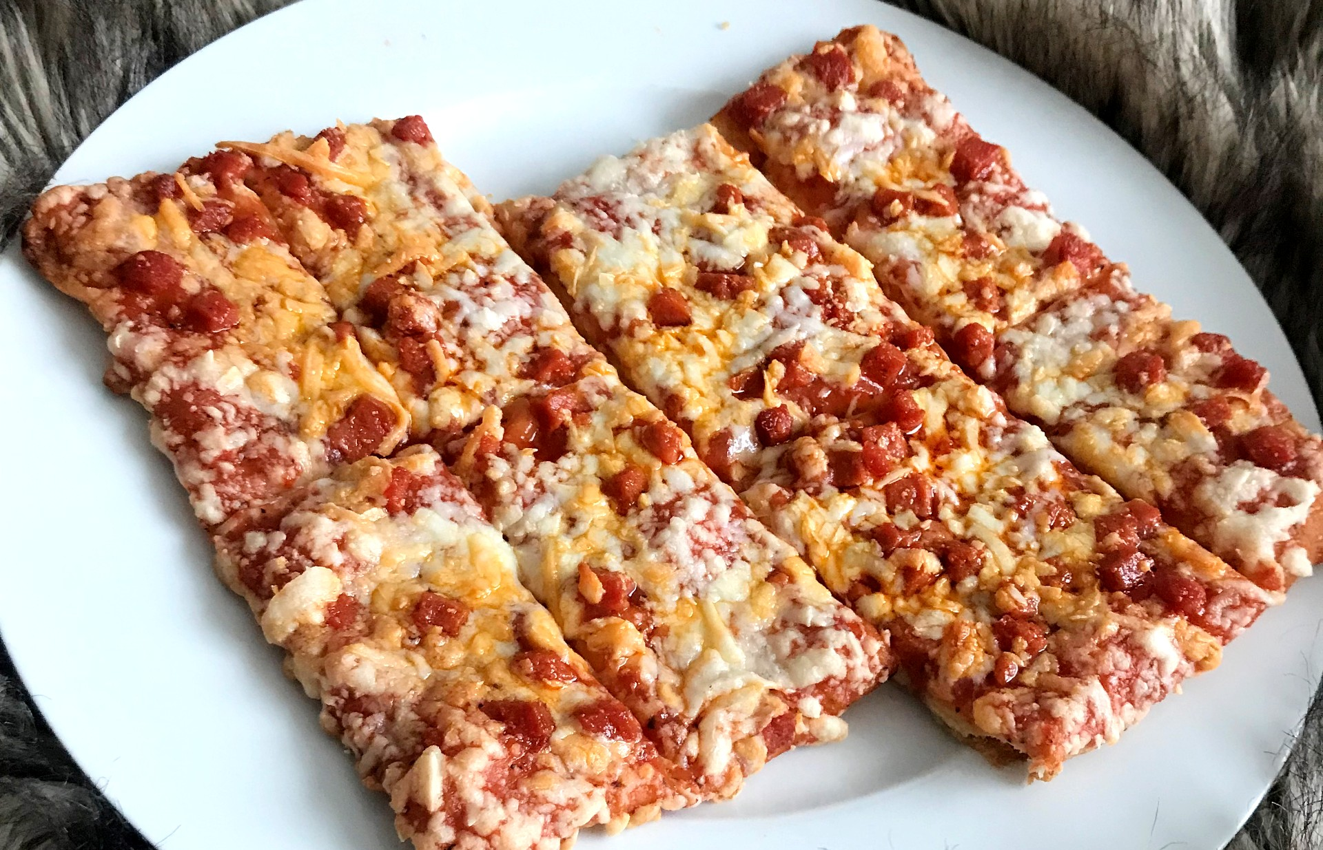 Totino S Pepperoni Party Pizza Pizza Blonde