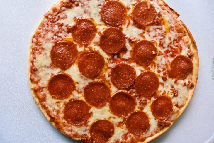 target market pantry pepperoni frozen pizza