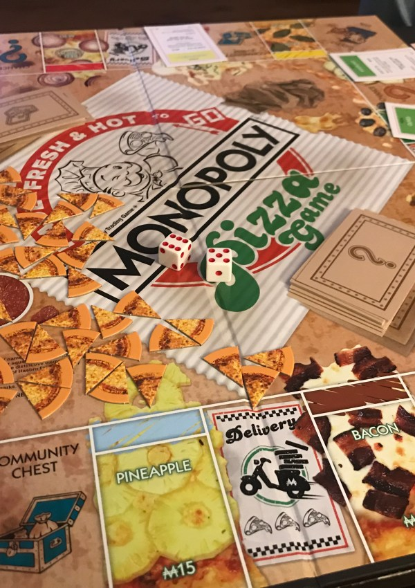 Monopoly Pizza Is A Delicious Twist On The Classic Board Game