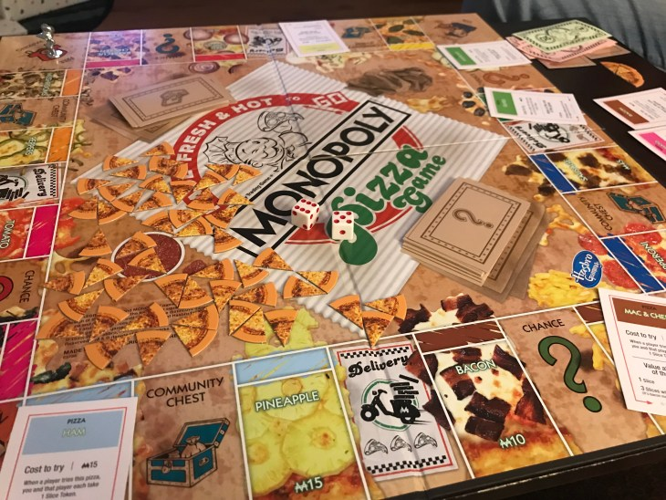 Monopoly Pizza Is A Delicious Twist On The Classic Board