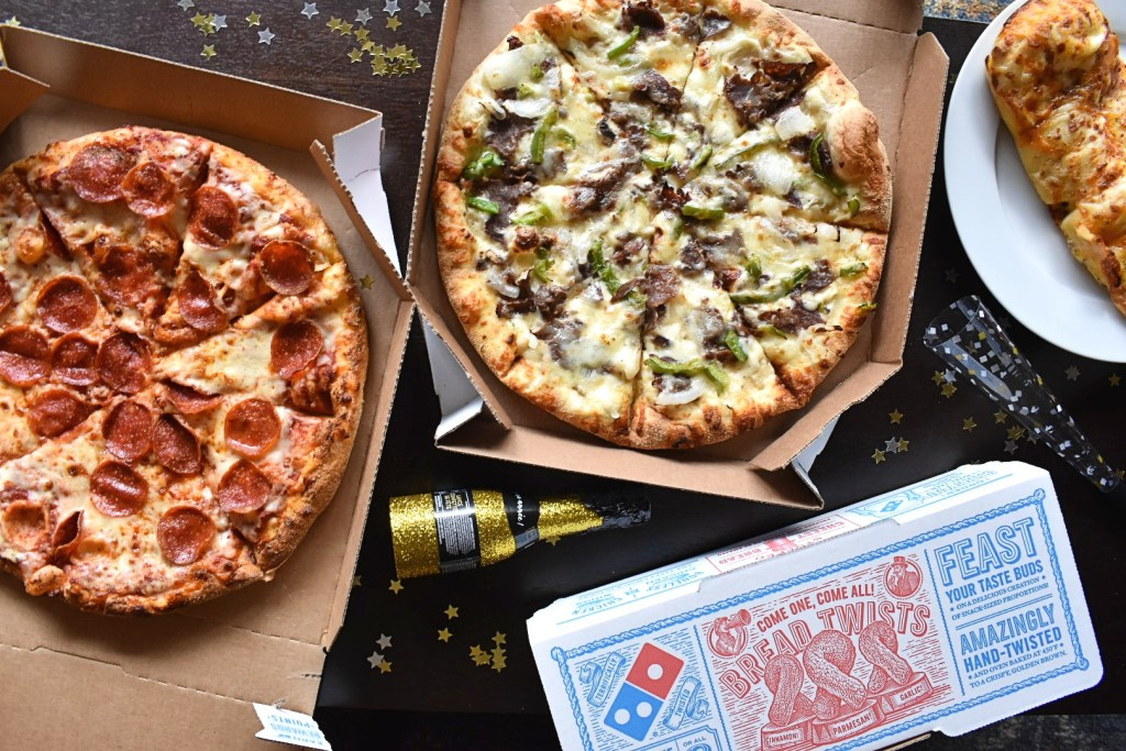 domino's pizza new years eve