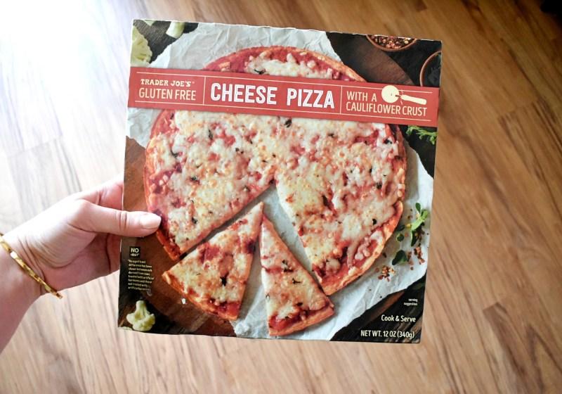 Trader Joe's Gluten Free Cauliflower Crust Cheese Pizza Review