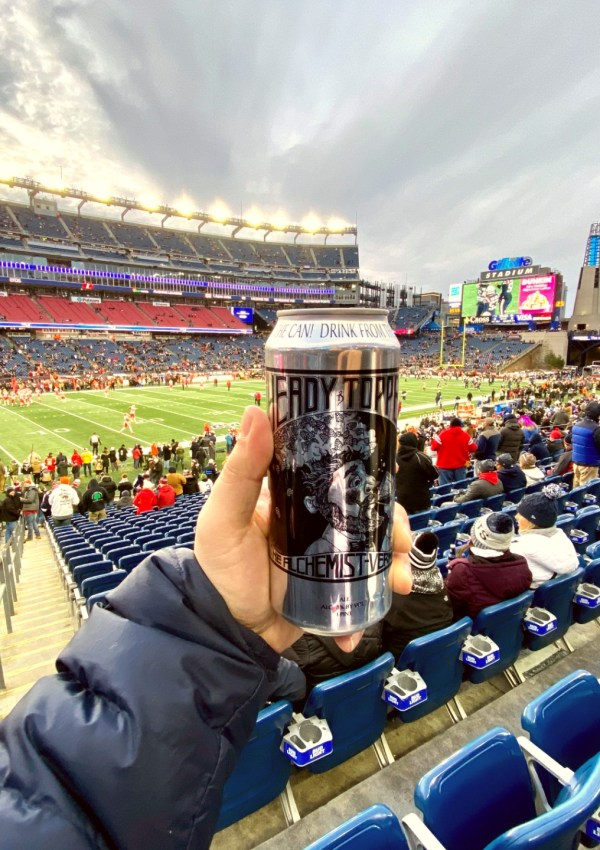 heady topper gillette stadium
