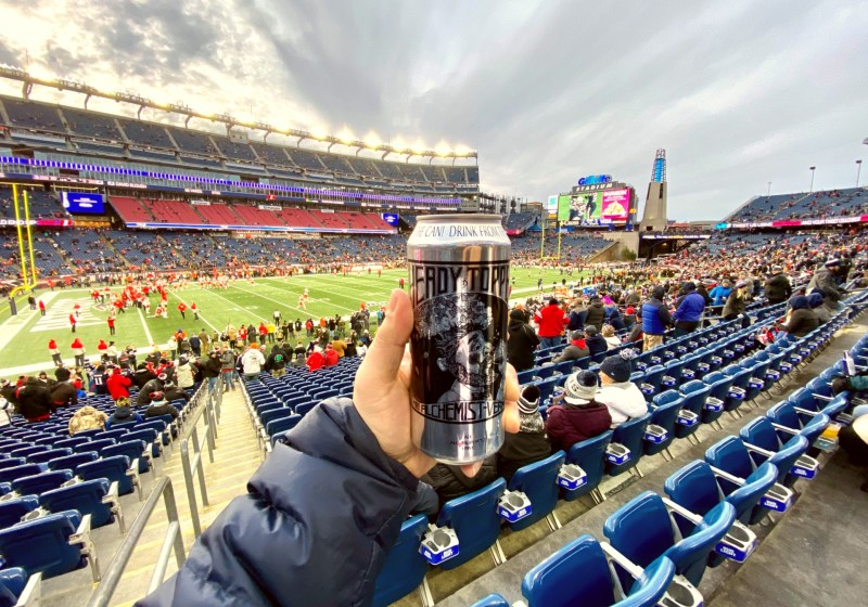 Where To Find Heady Topper & Pizza At Gillette Stadium