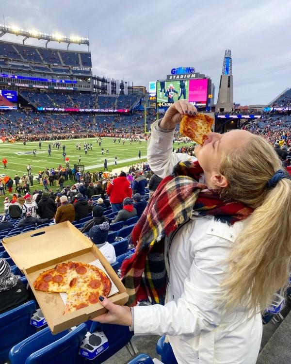 pizza blonde gillette stadium