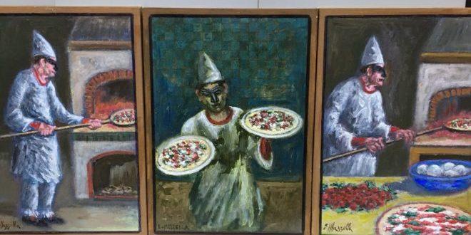 L'arte del pizzaiolo nei dipinti di Elio Mazzella