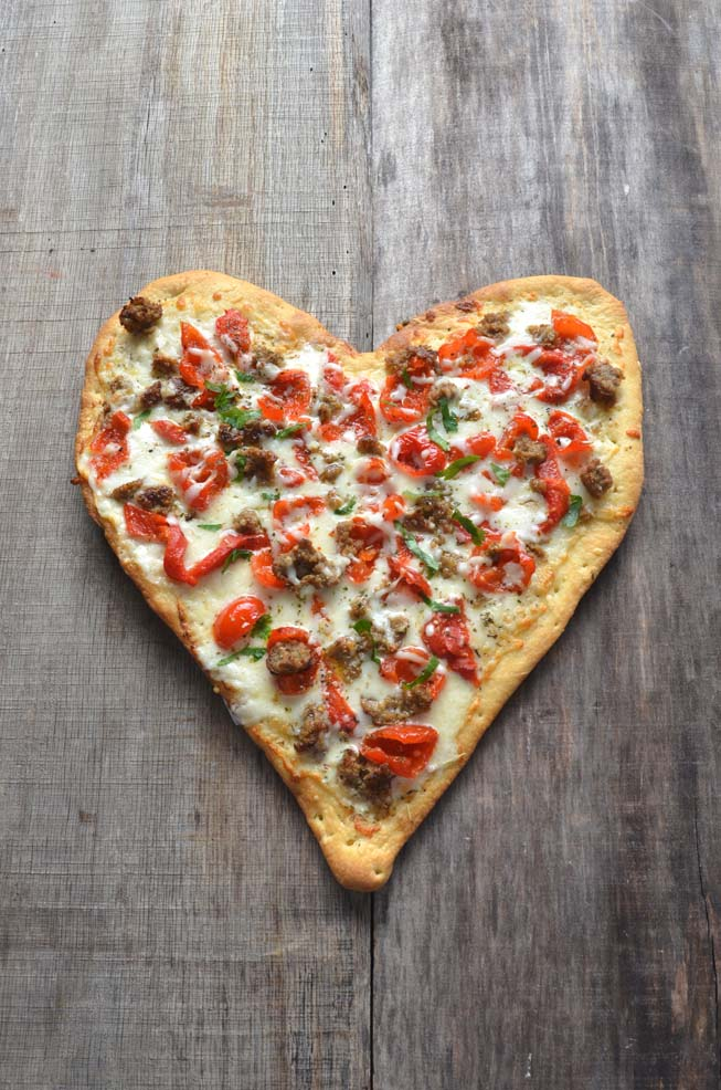 Trending Recipe Valentines Day Pizza  Pizza Today