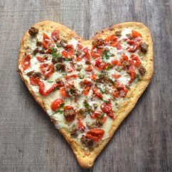 Kitchen Equipment Used Laminate Flooring In Trending Recipe: Valentine's Day Pizza | Today