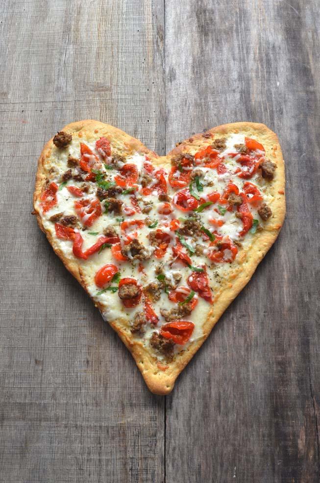 kitchen experts mandolin trending recipe: valentine's day pizza | today