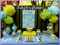 Blue & Yellow Baby Shower | Pizzazzerie