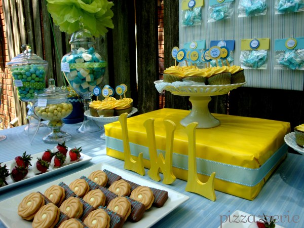 20 Yellow Blue Boy Baby Shower Ideas Pictures And Ideas On Carver